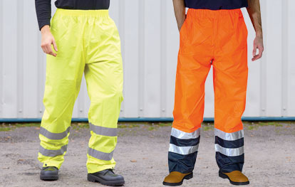 Hi Vis Trousers and Shorts