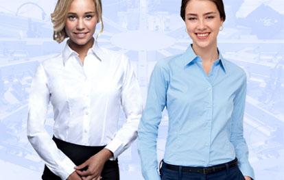 Ladies' Long Sleeve Shirts