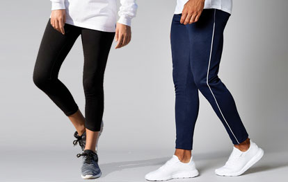 Track Pants, Joggers & Leggings