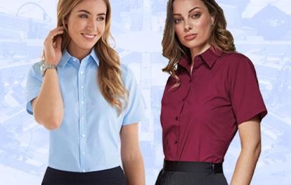 Ladies' Short Sleeve Shirts