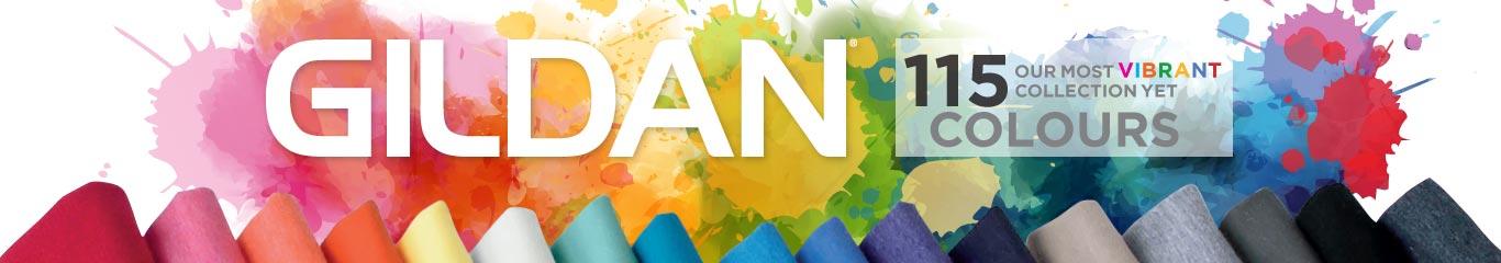 Gildan - The Vibrant Collection - 115 Colours
