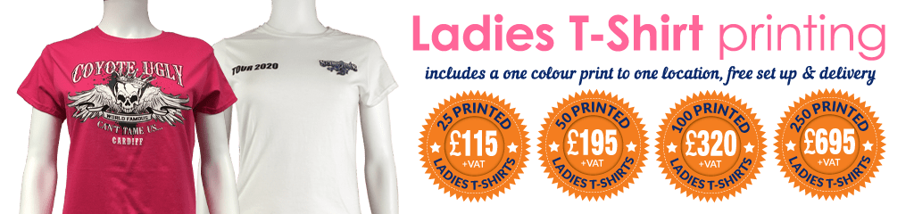 Special offers on the Gildan Ladies Heavy Cotton™ T-Shirt