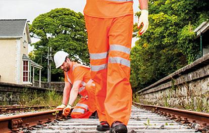 Hi Vis Railway Trousers