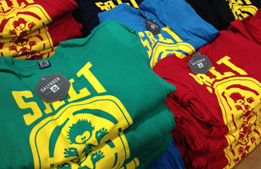 Crew Neck T-Shirts for Salt Rock