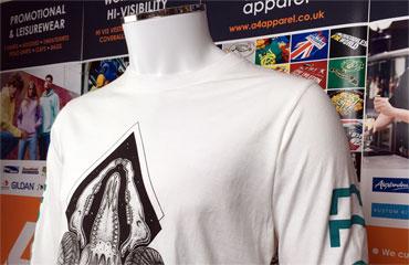 Men's Long sleeve t-shirt printing
